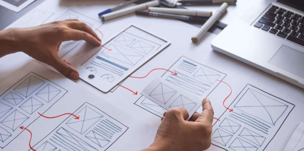 Intuitive design in online business
